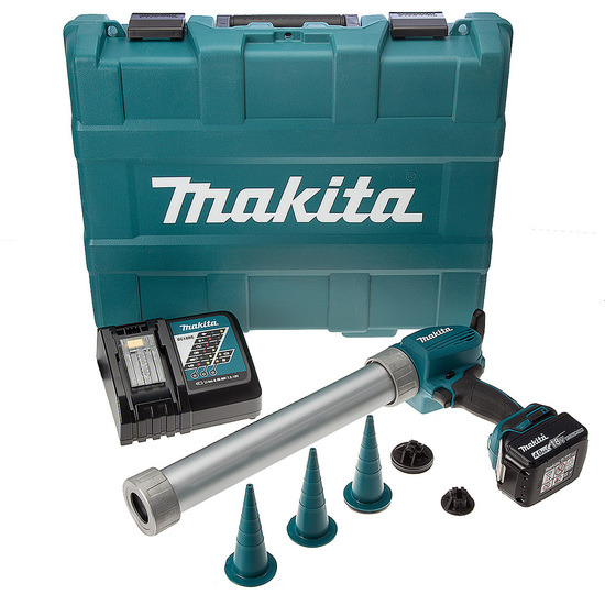 Makita DCG180RMB 18V Cordless li-ion LTX Caulking Gun in Carry Case 1 x 4Ah Batt