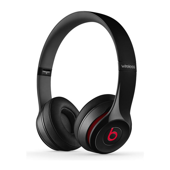 Beats by Dr. Dre Solo 2 Wireless Bluetooth Headphones - Black