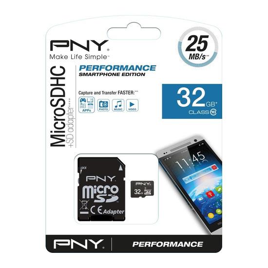 Performance 10 microSD Memory Card - 32 GB