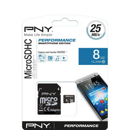 Performance Class 10 microSD Memory Card - 8 GB Reviews