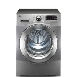 LG RC8055EH2M Heat Pump Tumble Dryer - Steel Reviews