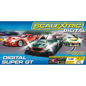 Photo of Scalextric Digital Super GT Toy