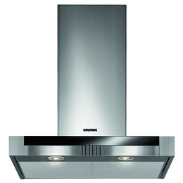 Grundig GDK2774BB Chimney Cooker Hood - Stainless Steel & Black