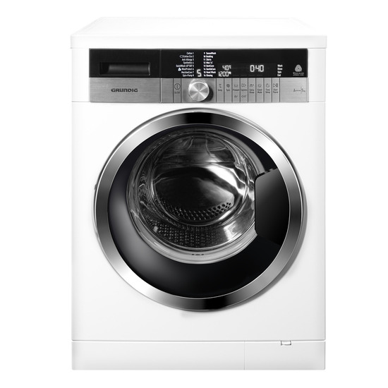 GRUNDIG GWN49630CW Washing Machine - White