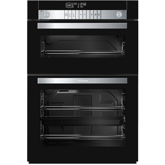 GEDM47000B Electric Double Oven - Black