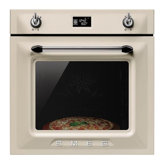 SMEG SF6922PPZ Electric Oven Cream