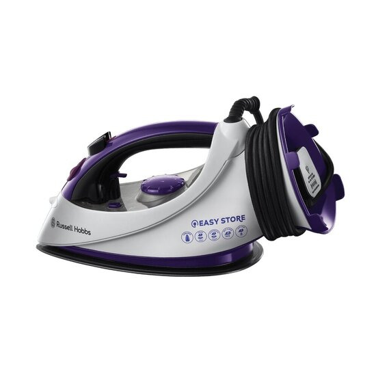 Russell Hobbs 18617 Easy Store Plug & Wind Steam Iron
