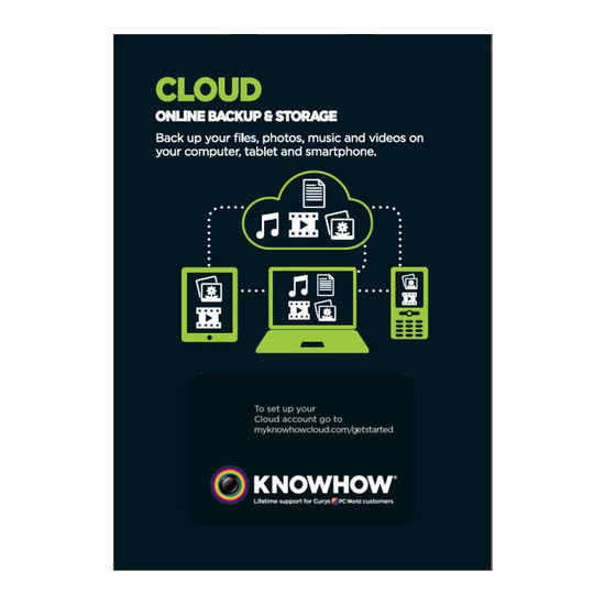 Cloud Storage 4 TB Backup & Share ServiceKnowhow Cloud 1TB