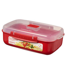 Rectangular 1.25-litre Microwave Container