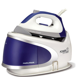 Power Steam Elite 330007 Steam Generator Iron - White & Blue Reviews