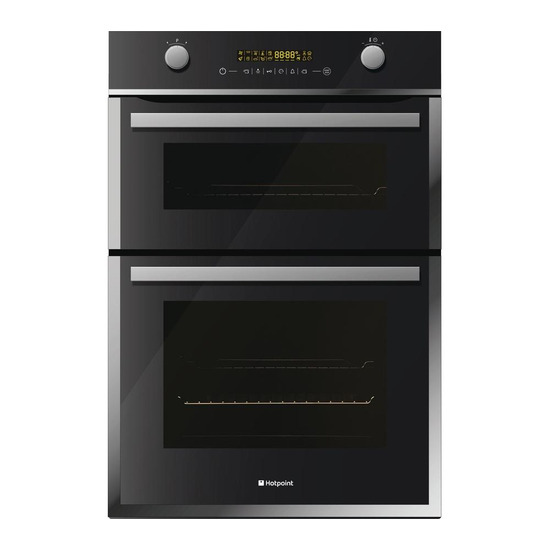 Hotpoint DBZ891CK Electric Double Oven Stainless Steel