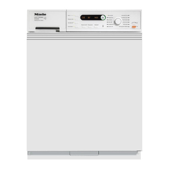 Miele W2819IR Integrated Washing Machine - White