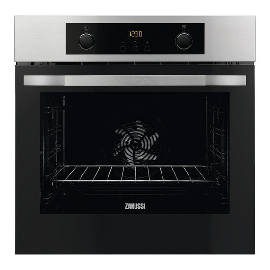 Zanussi ZOP37902BA Electric Oven Stainless Steel
