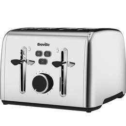 Colour Notes VTT735 4-Slice Toaster - Stainless Steel Reviews