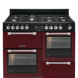 Cookmaster 110 Dual Fuel Range Cooker Red Reviews