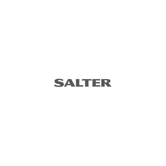Salter Contour High Capacity 10kg Digital Kitchen Scales - Black