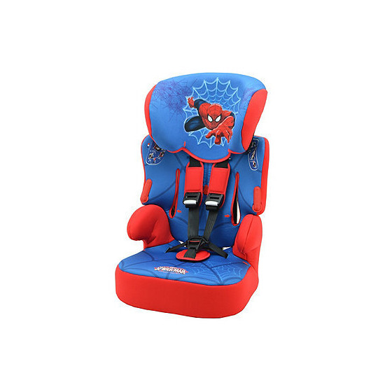 Spiderman Beline SP Highback Booster Car Seat With Harness