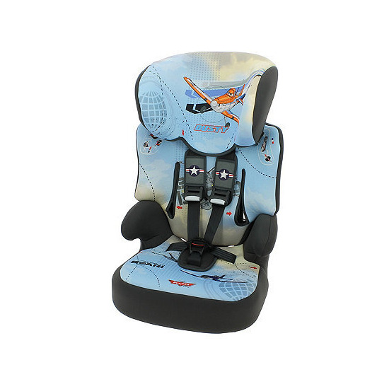 Disney Planes Beline SP Highback Booster Car Seat With Harness