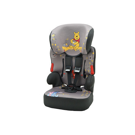 Disney Winnie The Pooh Beline SP Highback Booster Car Seat With Harness