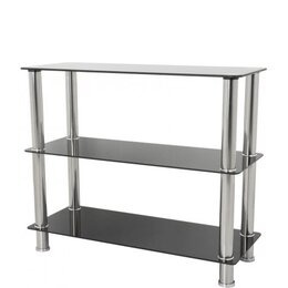 AVF S13 Wide 3 Shelf - Black Reviews