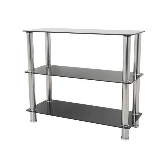 AVF S13 Wide 3 Shelf - Black