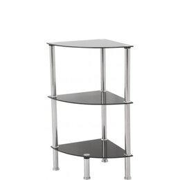 AVF S53 3 Shelf Corner Unit - Black Reviews