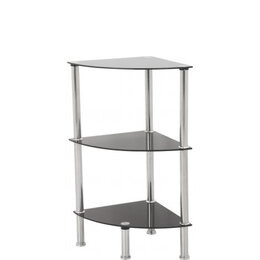 AVF S53 3 Shelf Corner Unit - Black Reviews