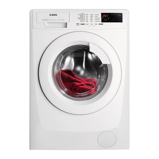 AEG L69490FL Washing Machine - White