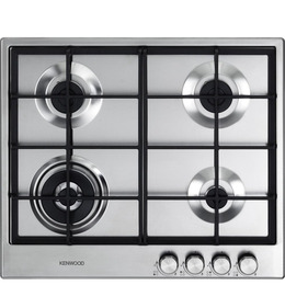 Kenwood KHG603SS Gas Hob - Stainless Steel Reviews