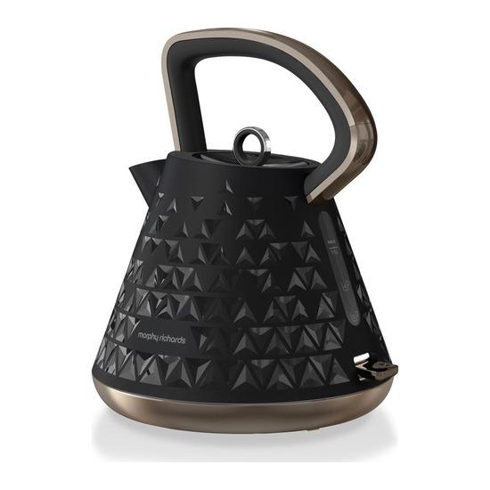 Prism 108101 Traditional Kettle - Black