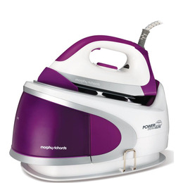Power Steam Elite 330005 Steam Generator Iron - White & Purple Reviews
