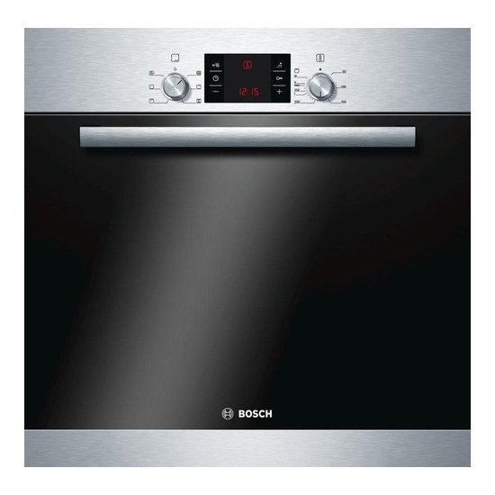 Bosch HBA43R150B Electric Oven Stainless Steel