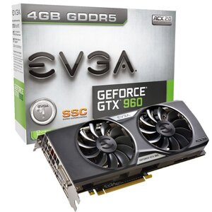 Photo of EVGA GeForce GTX 960 SUPERSC ACX 2.0+ Graphics Card