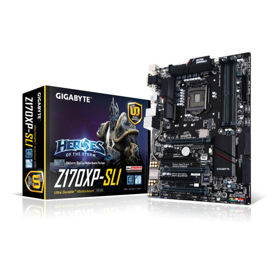 Gigabyte GA-Z170XP-SLI Socket LGA1151 HDMI 7.1 Channel Audio Motherboard