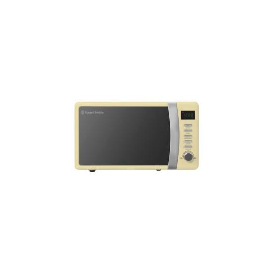 Russell Hobbs RHMD702C 17 Litre Digital Microwave Cream