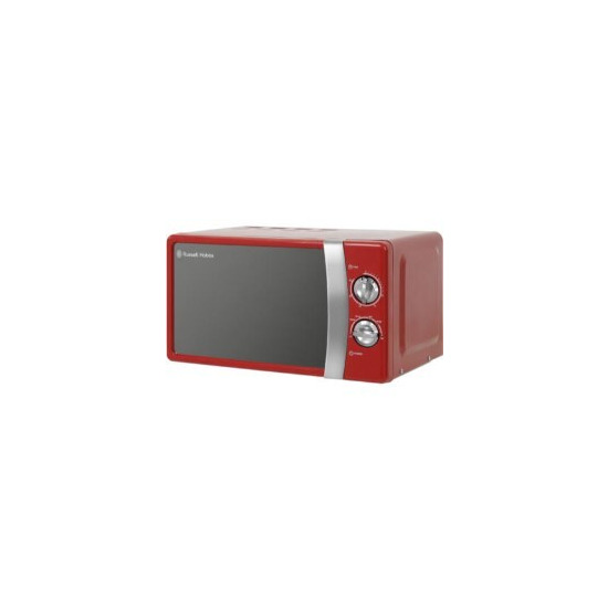 Russell Hobbs RHMM701R 17 Litre Red Manual Microwave