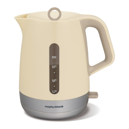 Morphy Richards Chroma 101207 Jug Kettle - Cream
