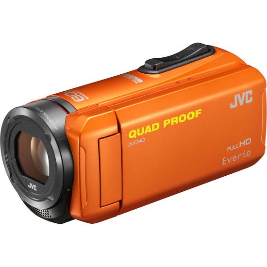 JVC GZ-R315DEK Traditional Camcorder - Orange