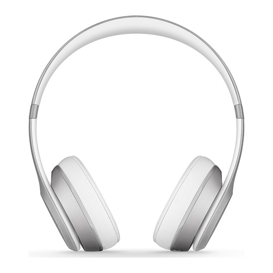 Beats by Dr. Dre Solo 2 Wireless Bluetooth Headphones - Silver