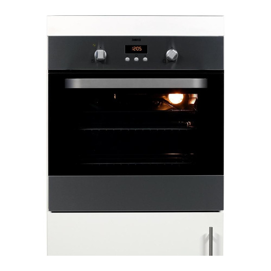 Zanussi ZOB353X Electric Oven Stainless Steel