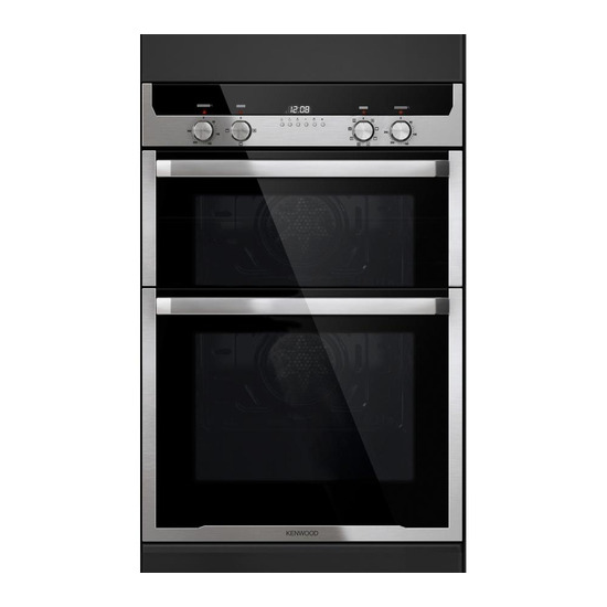 Kenwood KD1501SS Electric Double Oven Stainless Steel