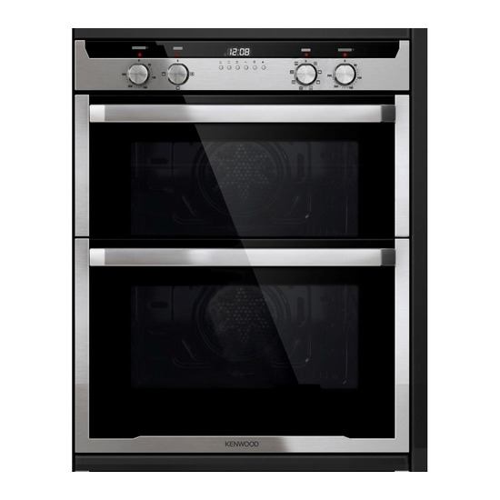 Kenwood KD1701SS Electric Built under Double Oven Stainless Steel