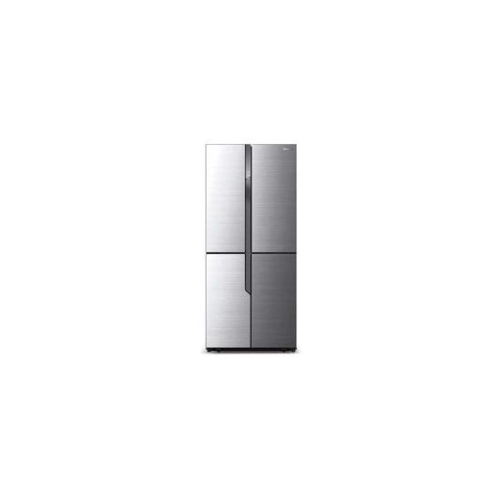 Hisense RQ562N4AC1 Frost Free 4 Door Fridge Freezer Stainless Steel Effect
