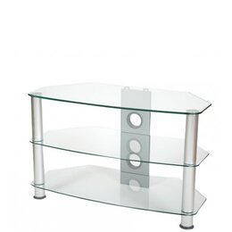 ValuFurniture Brisa 600mm Clear Glass TV Stand for up to 32 Reviews