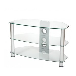 Photo of ValuFurniture Brisa 600MM Clear Glass TV Stand For Up To 32 TV Stands and Mount