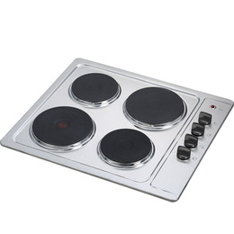 Essentials CSPHOBX15 Electric Solid Plate Hob - Stainless Steel Reviews