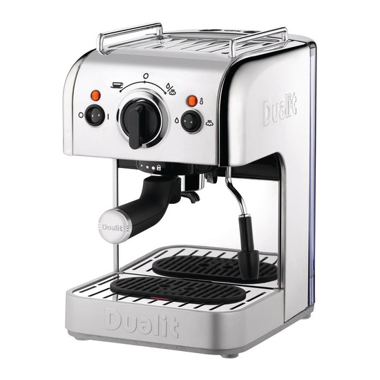 Dualit D3IN1SS 3-in-1 Coffee Machine - Stainless Steel