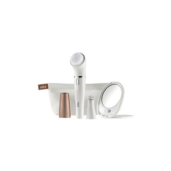 Braun Face 831 Beauty Edition Facial Cleansing Brush and Epilator