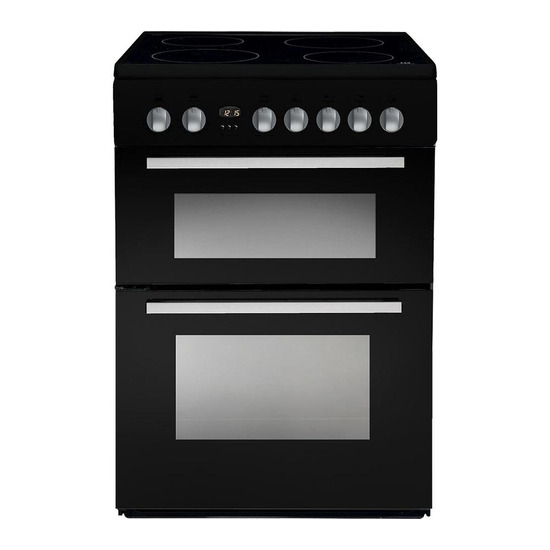 Indesit DD60C2CK 60 cm Electric Ceramic Cooker
