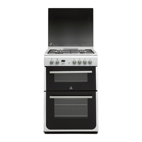Indesit DD60G2CGW 60 cm Gas Cooker